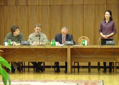 Konferencia a Professzorok Házában - az előadók