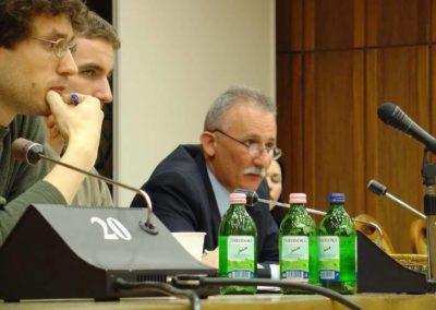 Konferencia a Professzorok Házában - hallgatói kérdésre válaszolva