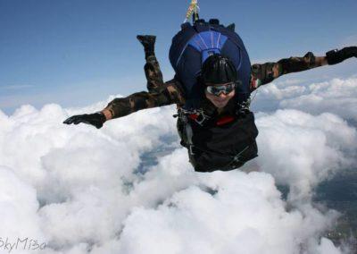 PPSO CZ-330 - felszereléssel a felhők felett