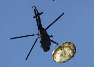 OVP-80.08 körkupolás taktikai ejtőernyő